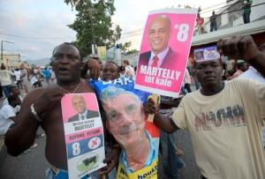 MILES DE PERSONAS SE MANIFIESTAN EN HAITÍ TRAS DENUNCIAS DE FRAUDE ELECTORAL
