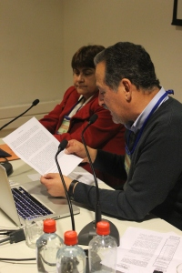 Osiel Nuñez lee declaración