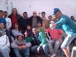 En la cárcel de Chiquinquirá con los prisioneros políticos de las FARC-EP